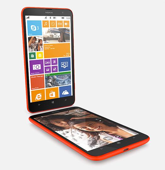 Nokia Lumia 1320 phablet pantalla