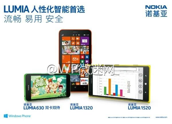 Nokia Lumia 630 catálogo oficial