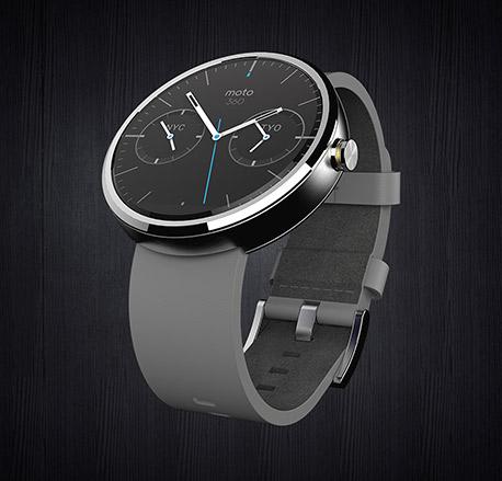 Motorola Moto 360 color gris