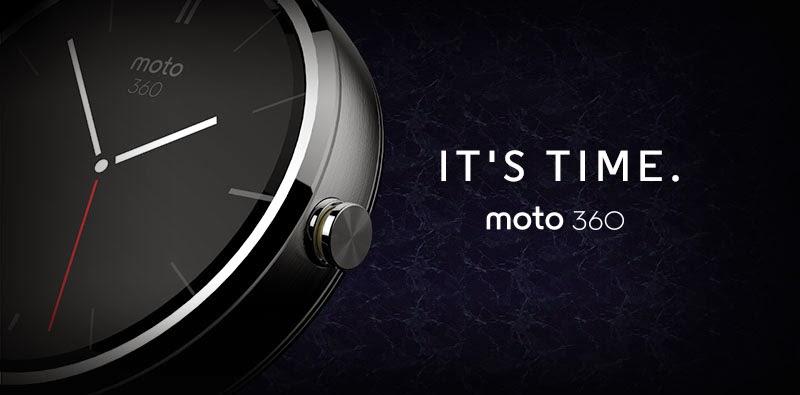 Motorola Moto 360 It's time cartel