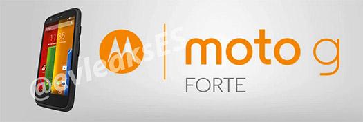 Moto G Forte cartel