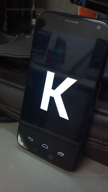 Moto X desbloqueado recibe Android 4.4 KitKat en México Easter Egg K