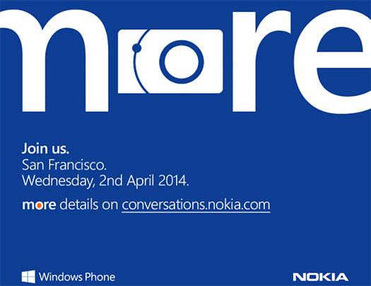 Nokia 2 april invitation 2014