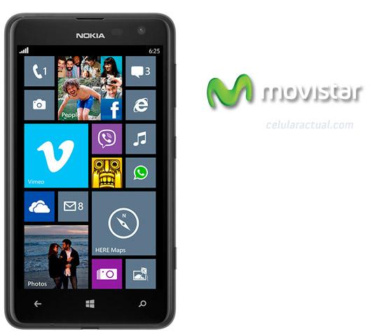 Nokia Lumia 625 4G en Movistar México Black Negro