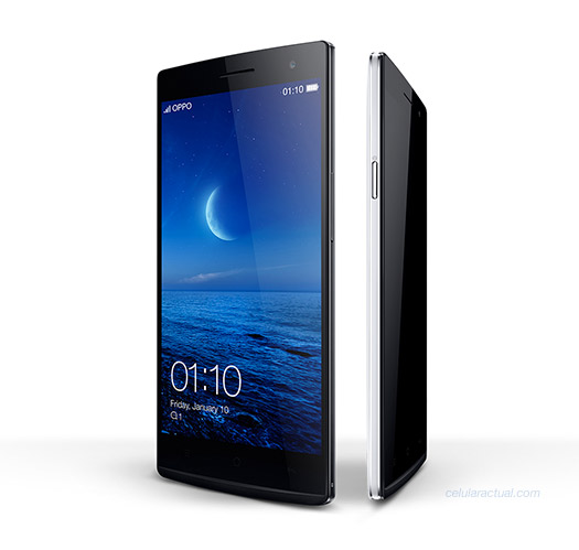 Oppo Find 7 Quad HD Snapdragon 801 oficial imagen