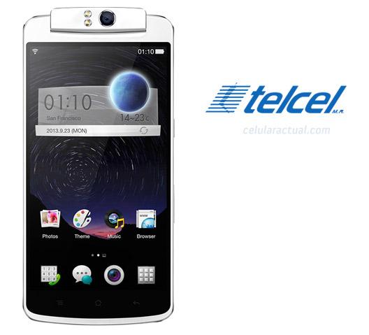 Oppo N1 en México con Telcel a detalle