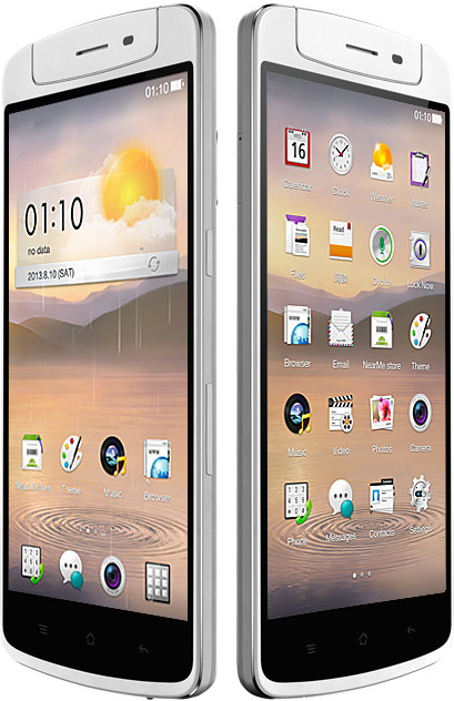 Oppo N1 en México con Telcel ColorOS basado en Android