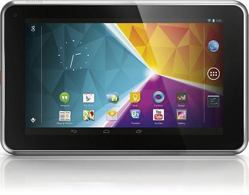 Philips 7 PI3900B2 tablet en México pantalla