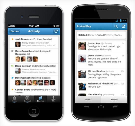 La app de Twitter mejora búsqueda y descubrimiento en actualización más reciente