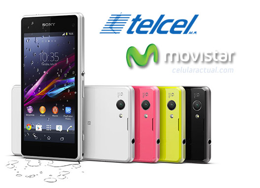 Sony Xperia Z1 Compact en México en Telcel y Movistar