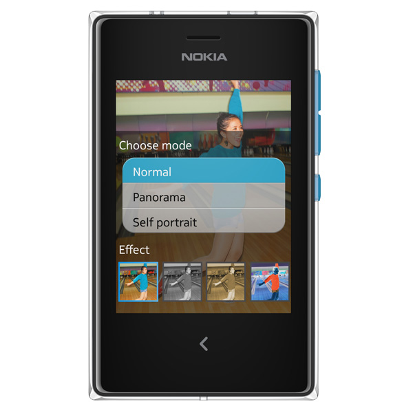 Nokia Asha update Panorama mode