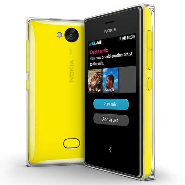 Nokia Asha update Mix Radio