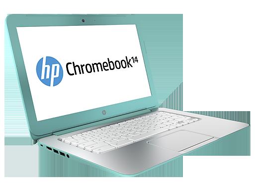 HP Chromebook 14 en México color turquesa