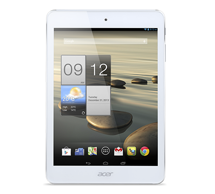"""Acer Iconia A1-830 pantalla de 7.9"""" de frente"""