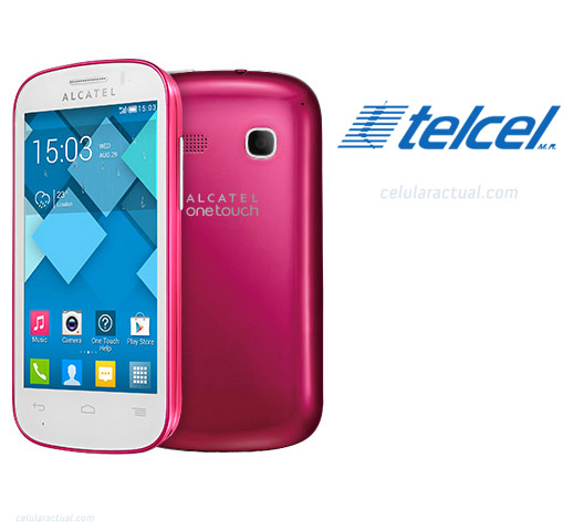 Alcatel One Touch Pop C3 en México con Telcel