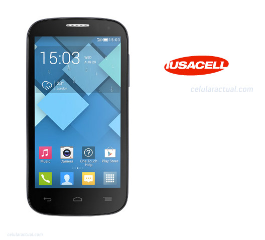 Alcatel Pop C5 en México con Iusacell