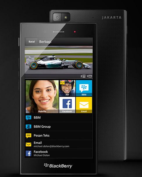 BlackBerry Z3 oficial