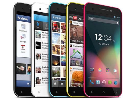 Blu Studio 5.5 en México, Dual SIM libre pantallas 2