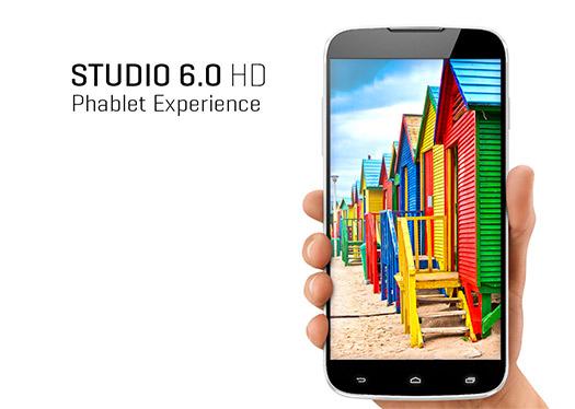 Blu Studio 6.0 HD el nuevo phablet pantalla