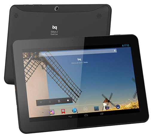 BQ Edison 2 Quad Core tablet  en México
