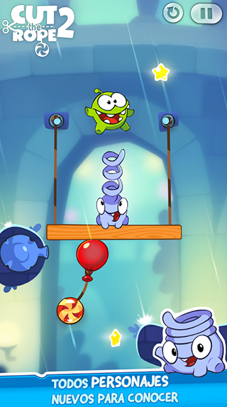 app cut the rope 2