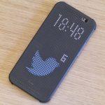 Hackean funda Dot View de HTC One M8 para mostrar más notificaciones
