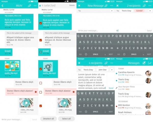 Se filtra el FirefoxOS 2.0 captura Mensajes