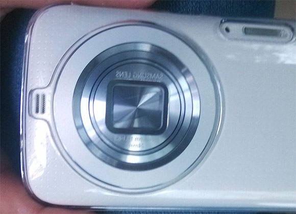 Samsung Galaxy K Zoom o Galaxy S5 Zoom cámara trasera