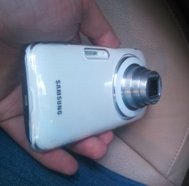 Samsung Galaxy K Zoom o Galaxy S5 Zoom cámara trasera con Zoom