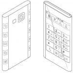 El Samsung Galaxy Note 4 y su pantalla Curva de Tres lados se muestra en patente