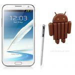 Samsung Galaxy Note II comienza a recibir Android 4.4 KitKat oficial