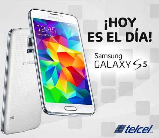 El Samsung Galaxy S5 llega a México con Telcel