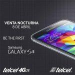 Venta nocturna del Samsung Galaxy S5 en México con Telcel comenzará el 8 de abril