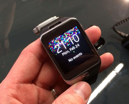 Galaxy Gear 2 integra chip Exynos