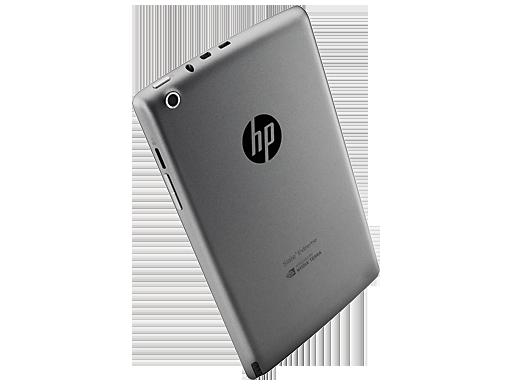 HP Slate 7 Extreme en México cámara trasera ranuras