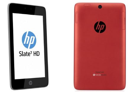 HP Slate 7 HD con Android y procesador Dual-core ya en México