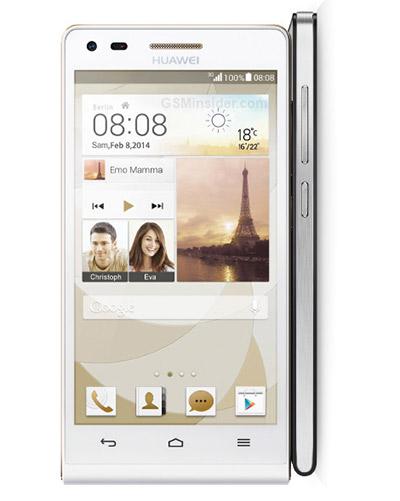 Huawei Ascend P7 mini con pantalla de 4.5 pulgadas