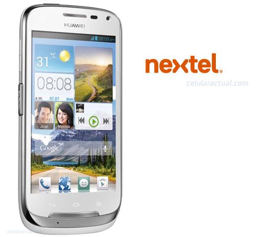 Huawei Bright un nuevo Android  en México con Nextel