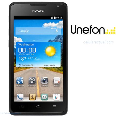 Huawei Ascend Y530 ya en Unefon