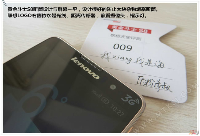 Lenovo Golden Warrior S8 en directo True Octa Core