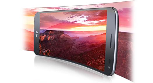 LG G Flex  México con Telcel pantalla Curva P-OLED