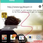 Primer pantalla del LG G3 revela nueva interfaz de Android más plana