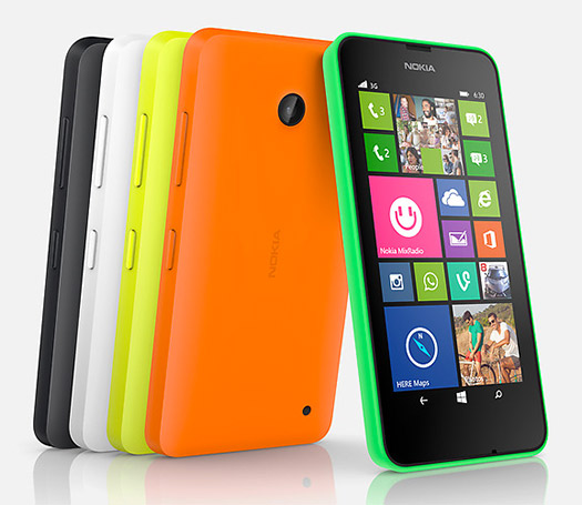 Nokia Lumia 635 colores