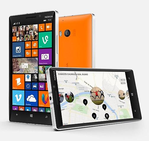 Nokia Lumia 930 pantalla HD y cámara PureView