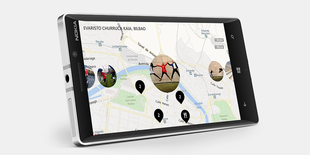 Nokia Lumia 930 pantalla HD color blanco