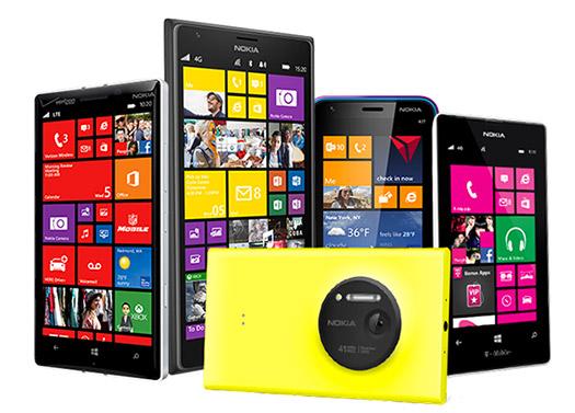 Nokia Lumias con Windows Phone 8.1