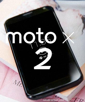 Moto X 2 logo No oficial