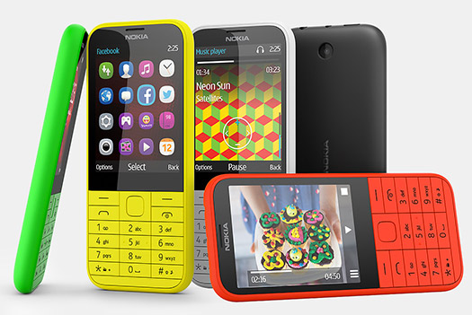 Nokia 225 Single SIM colores