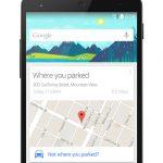 Google Now podría recordarte dónde estacionaste tu automóvil