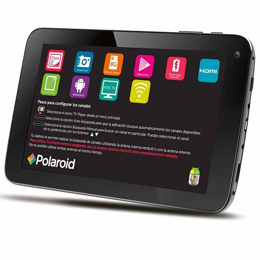 Polaroid Tablet TV 7 Alta Definición en México pantalla HD